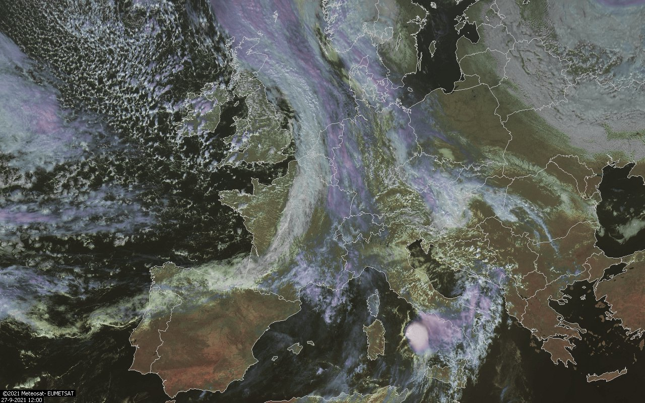 weerstation grou visuele satelliet opname msg3 1200UTC